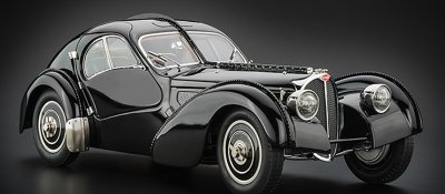 CMC Bugatti Type 57 SC Atlantic 1938 black