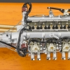 CMC Aston Martin DB4 GT 1961 Engine with Showcase