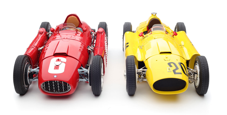 M-184 Ferrari_Lancia D50 nebeneinander