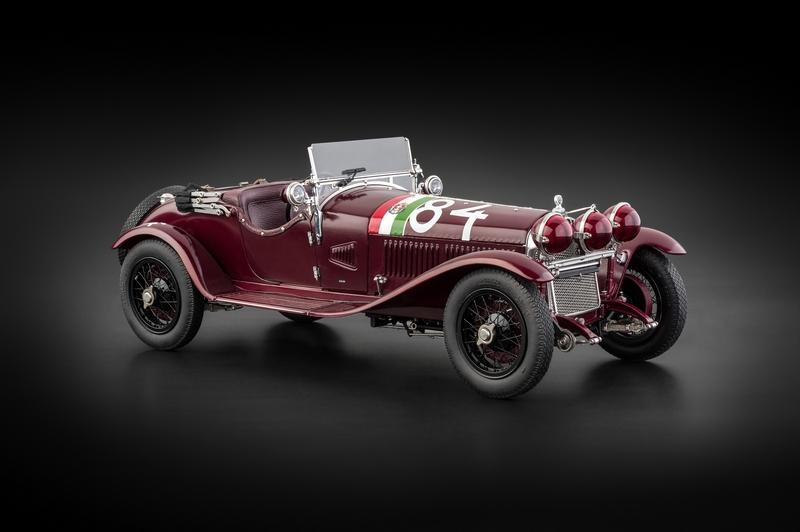 Alfa Romeo 6c >> Cmc Alfa Romeo 6c 1750 Gs Mille Miglia Nuvolari 84 1930